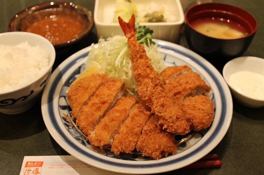 浜勝スペシャル定食 1,590円