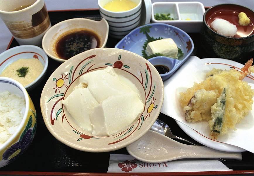 豆腐と湯葉の御膳 1,050円